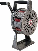 Base Mount Loud Hand Crank Manual Operated Air Raid Alarm Metal Portable Siren