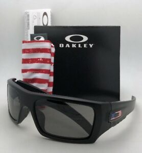 9ae97010f7 OAKLEY INDUSTRIAL DET-CORD Safety glasses OO9253-11 Black USA Flag w ...