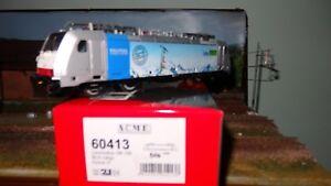 Acme 60413 186 109 Rail Pool / Bls Cargo Gris Bandeau Bleu Clair,quattro Logo Brillant En Couleur