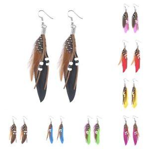 Bohemian-Feather-Drop-Hook-Earring-Chain-Dangle-Chandelier-Earrings-Party-Gift