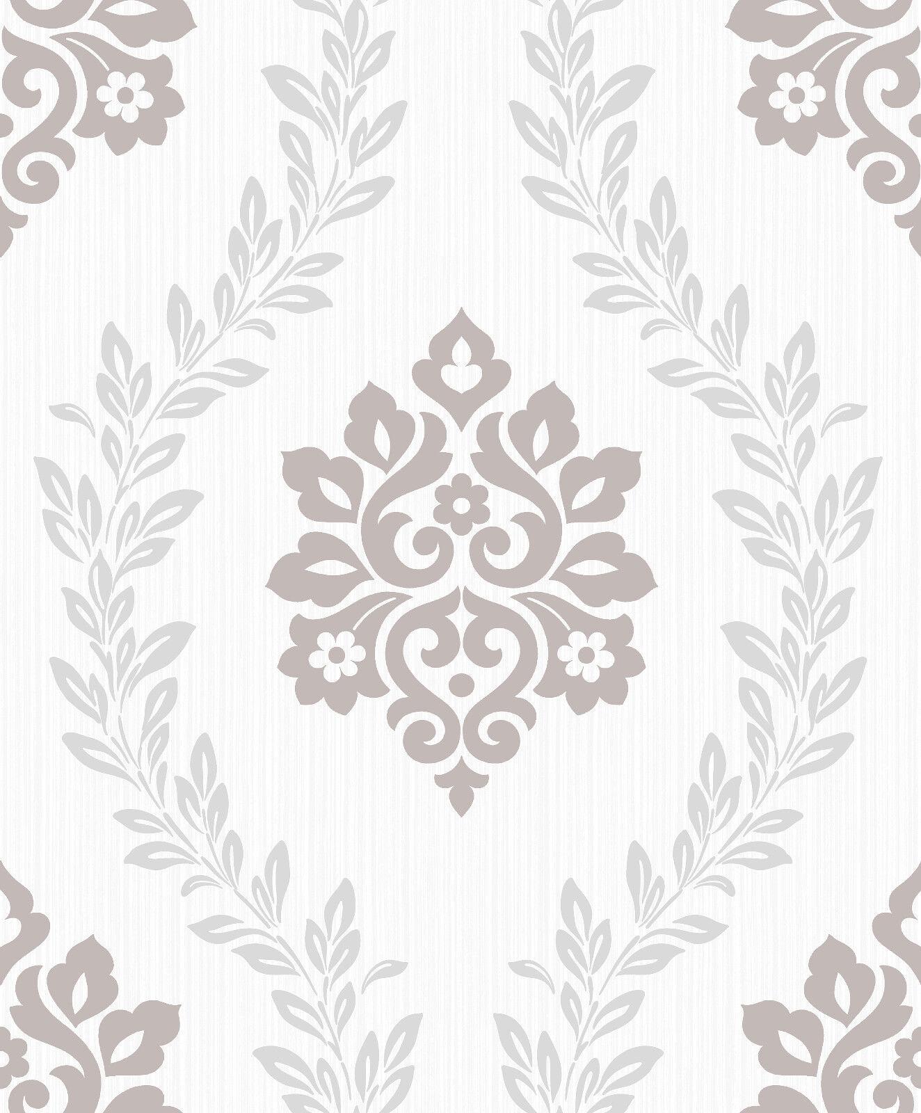 Tapete Barock Ornament Beige Rasch Pure Vintage 449020