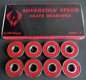 ABEC-7-ABEC-9-SWISS-Skate-Bearings-Skateboard-Longboard-Scooter-Roller-2-4-8-PK