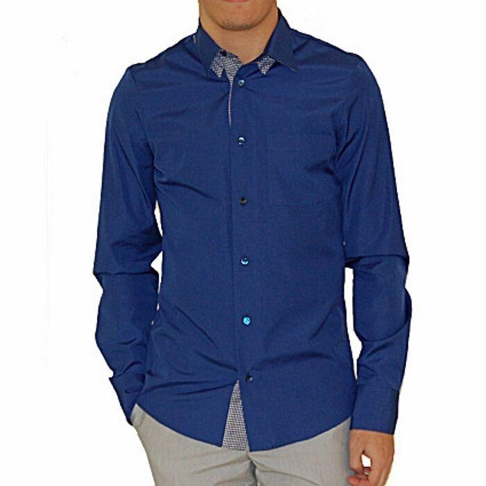 Alexander McQueen camicia dettaglio colletto, collar detail shirt