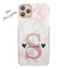 Pink-Initial-Phone-Case-Personalised-Pink-Grey-Marble-Hard-Cover-For-Samsung-A miniatuur 14