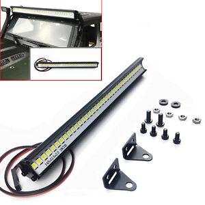 RC-coche-techo-de-la-lampara-36-LED-luz-barra-para-1-10-Traxxas-TRX-4-SCX10-D90-Jeep-Wrangler