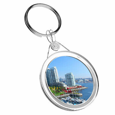 1 x North America Vancouver Keyring IR02 Mum Dad Kids Birthday Gift #4519