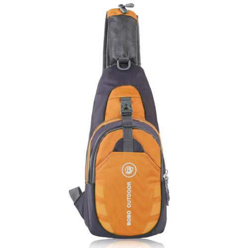 Unisex Hiking Sling Crossbody Chest Bags Nylon Shoulder Bag Waterproof Backpack