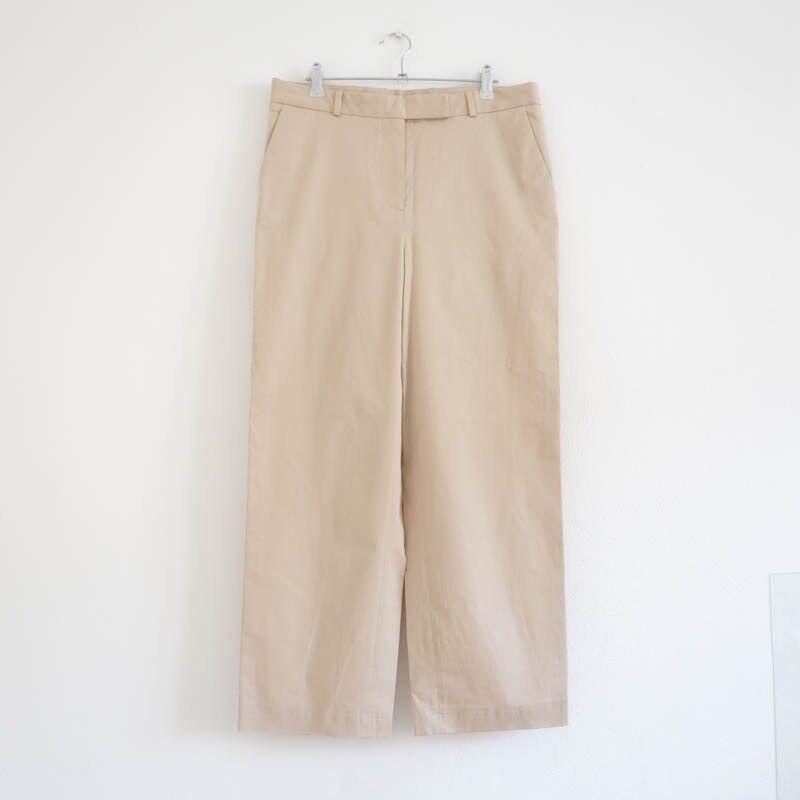 Hof115  cos Pantaloni Cotone Beige Beige Beige Straight-cut trousers sabbia Cotton 40 485d2e