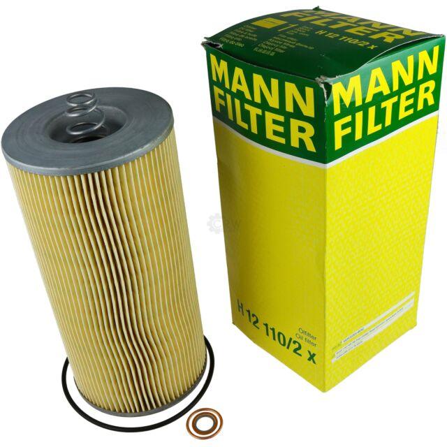 Mann Filter H 12 110//2 x Filtro Olio