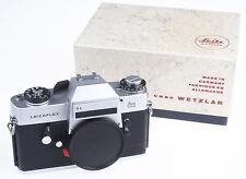 Leica Leicaflex SL S L S-L silber, wie neu, MINT, Leica-Fachhändler * N305