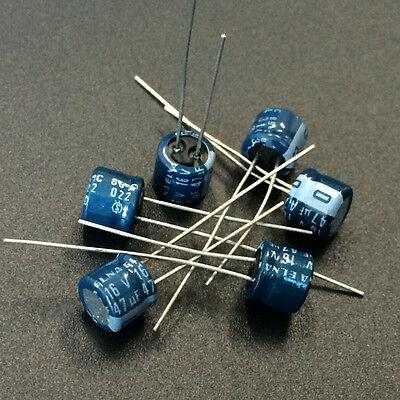 ELNA Japan 16V 47UF AUDIO Grade Electrolytic Capacitors 10 pcs// 20 pcs// 50pcs
