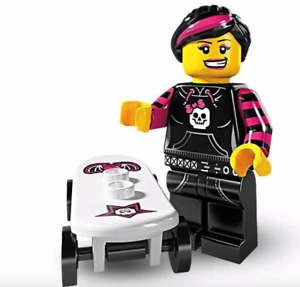 LEGO Minifigures Series 6 Skater Girl 8827 NEW opened to confirm type