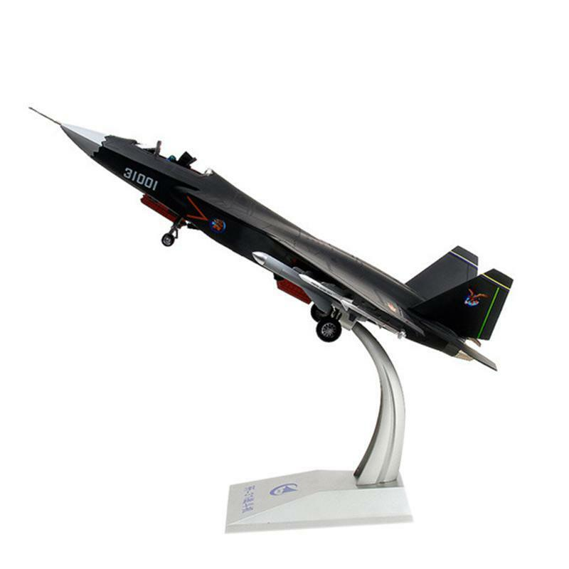 Static Model Fighter Collection Shenyang J-31 Plane Military Aircraft 1 32