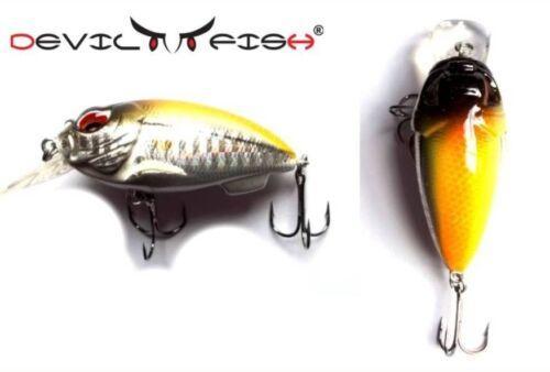 Top Kinetic cucchiaino Bumble 55mm 13gr colore 4 0,5-2m profondità unità molto fängig