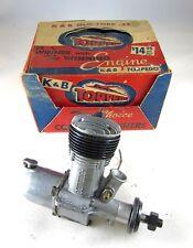 Vintage 1948 K&B Glo-Torp 32 Control Line Model Airplane Engine