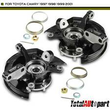 2pcs Wheel Bearing Hub Knuckle Assembly Steel Front For Toyota Camry 2001 1997 Fits Toyota