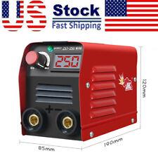 110v Mini Electric Welding Machine Igbt Dc Inverter Arc Mma Stick Welder 20 250a