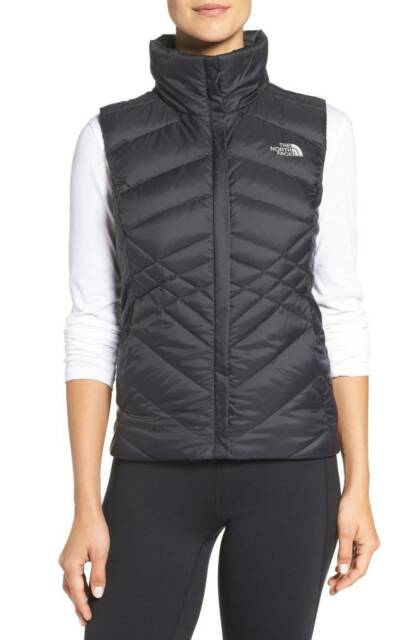 3d80e1acb The North Face Womens Misses tnf BLACK ACONCAGUA VEST jacket coat S M L or  XL