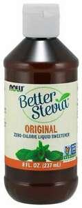 NOW-FOODS-BetterStevia-Liquid-Original-Stevia-Kalorienfreier-Suessstoff-237ml