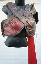 JOHN CARTER Movie Prop Wardrobe women Leather Armor Medieval Breast Plate LARP 3