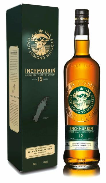 Inchmurrin 12 Jahre Loch Lomond 0,7l Scotch Single Malt Whisky 46%
