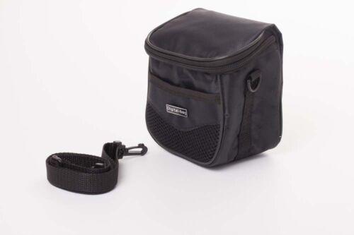 dsc-h300 Bolsa de cámara negro 1cm x 7cm x 12cm para Sony CyberShot dsc-h200