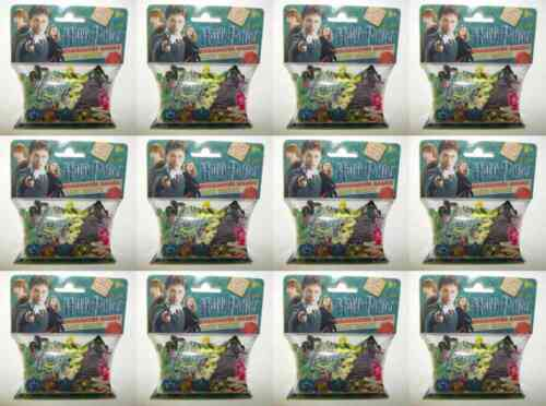 12 Pack Lot of Harry Potter Houses Logo Silly Bandz 240 Bands