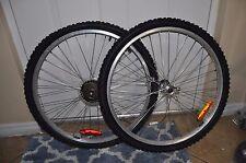 Alex Xrims 26 Mountain bike Wheelsets 7 Speed Shimano Cassette KENDA Tires