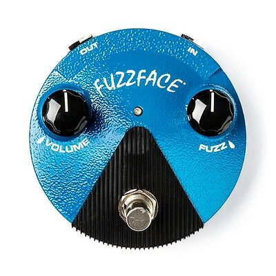 dunlop ffm1 fuzz face mini guitar effects pedal with silicon transistor ebay. Black Bedroom Furniture Sets. Home Design Ideas