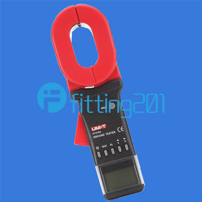 UNI-T UT278A Ground Resistance tester 4digitals LCD display Clamp Ohmmeter