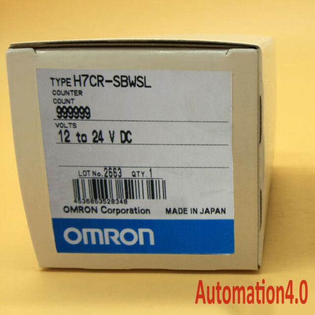 Omron Counter H7CN-XLN AC100-240V 1-Year Warranty ! New In Box