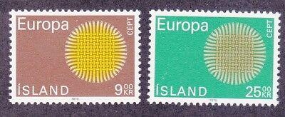 Bekomme Eins Gratis Preiswert Kaufen Island 420-21 Mnh 1970 Europa Set Sehr Guter Zustand Kaufe Eins Island Briefmarken