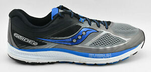 WOMENS-SAUCONY-GUIDE-10-RUNNING-SHOES-BLACK-GRAY-BLUE-WHITE-SIZE-12-US-46-5-EU