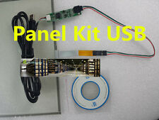 """NEW 15"""" 4 Wire USB Touch Screen DIY Panel Kit Set For Windows 7 XP Vista 4:3 ###"""