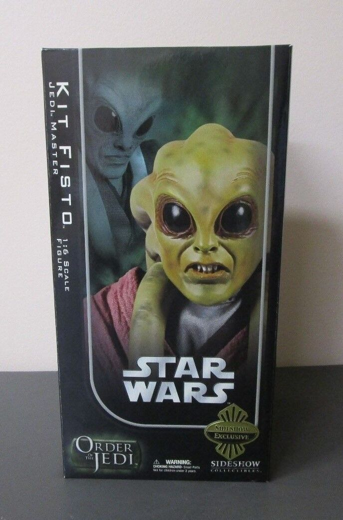 Kit Fisto Jedi Master STAR WARS Sideshow 12  1 6 Scale EXCLUSIVE