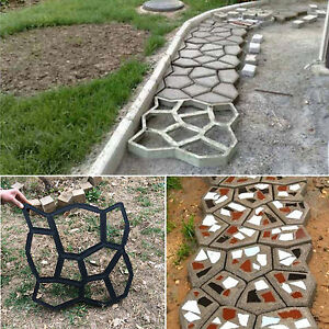 Image Is Loading DIY Pavement Mold Driveway Paving Brick Patio Path