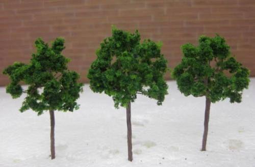 D6030  Neu 30 x Bäume Laubbäume Spur N 60mm