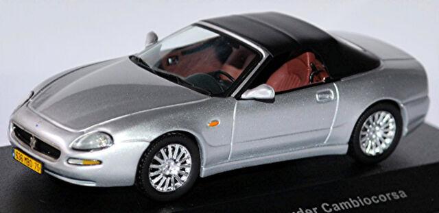 Maserati Spyder Cambiocorsa 2003 silber 1:43 Ixo neu /& OVP MOC035