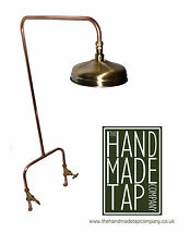 Handmade Copper Exposed Shower Mixer Fixed Head - Industrial - Antique - Vintage