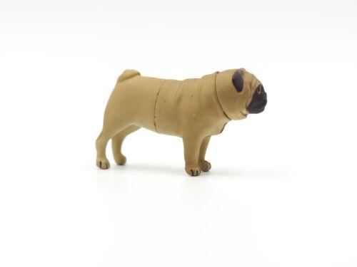 Brown Pug 3cm H Puppy Dollhouse Miniature Fairy Garden Dog