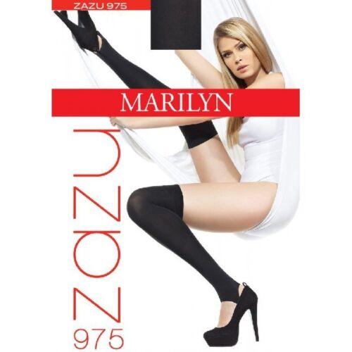 "Exclusive Overkness by Marilyn /""ZAZU 975/"" 100 Denier"