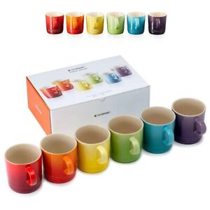 Le-creuset-Espresso-Mugs-Rainbow-Collection