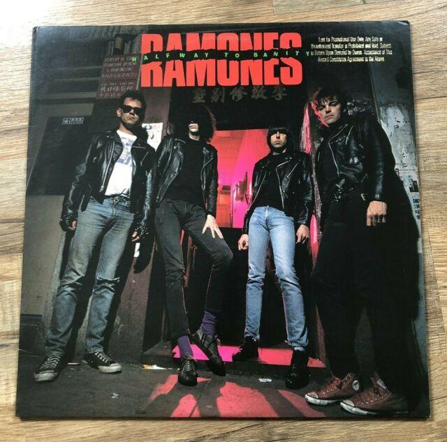 "Ramones ""Halfway To Sanity"" [USED VINYL - EX -1987- 1ST PRESSING PROMO - RARE]"