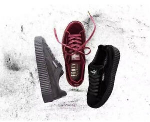 Details about New Velvet Puma Fenty PUMA Creeper Rihanna x Pack Trainer  Sneaker Shoes