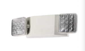 LED-Emergency-Exit-Light-Battery-Backup-amp-Adjustable-Two-Round-Heads-UL-Listed