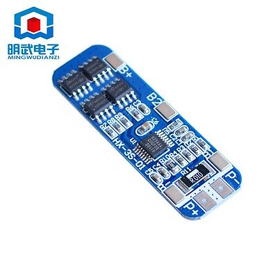12V BMS Charging Charger Protection Board Circuit 3 Pack 18650 Lithium Battery