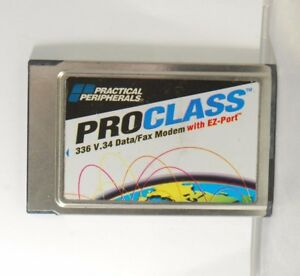 Practical Per 5353US 336 V.34 Data/ Fax Modem with EZ-Port. Used