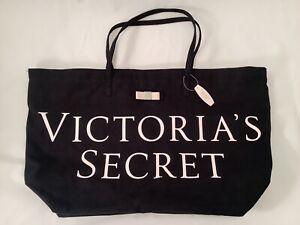 Tote bag black and metallic pink