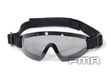 FMA Gray Len Low Profile Eyswear Blue Google For Airsoft