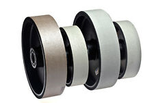 "BUTW 6""  x 1 1/2"" wide x 800 grit diamond soft flex wheel grinding  E"